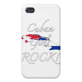 Cuban Girls Rock! Cases For iPhone 4