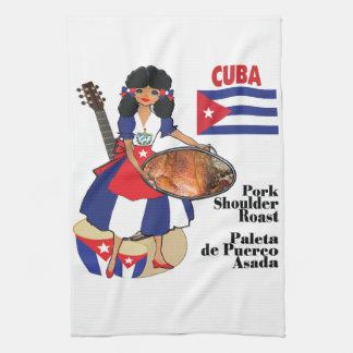 Cuban Kitchen towel- Paleta Tea Towel