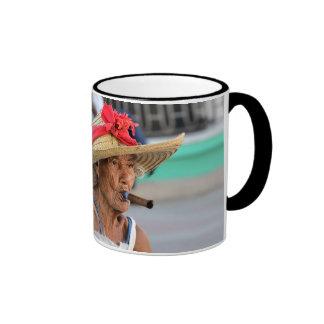 Cuban Lady Ringer Mug