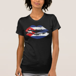 Cuban Lips tank top design for women
