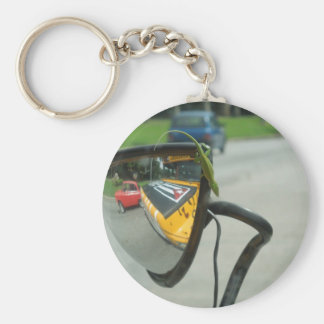 Cuban Lizard Basic Round Button Key Ring
