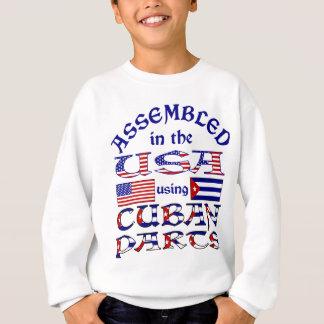 Cuban Parts Front Sweatshirt