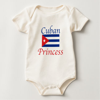 Cuban Princess Baby Bodysuit