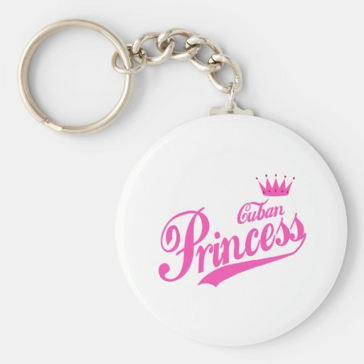Cuban Princess Keychains