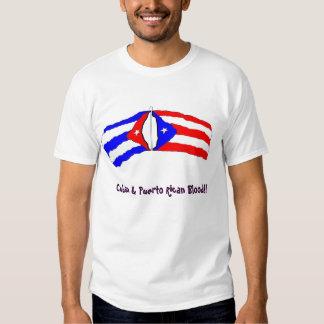 Cuban Puerto Rican American T Shirts