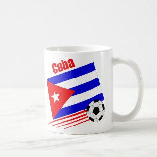 Cuban Soccer Team Basic White Mug