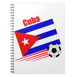 Cuban Soccer Team Notebook