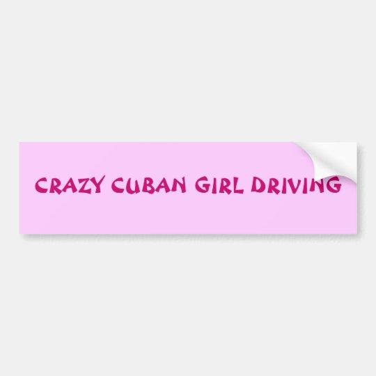 CUBAN VIBES BUMPER STICKER