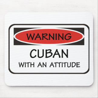 Cuban With An Attitude Mouse Mat