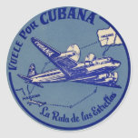 Cubana Vintage Luggage Sticker