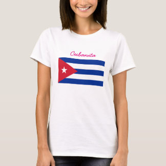 Cubanita Cuban Flag T-Shirt