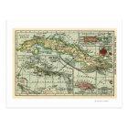 CubaPanoramic MapCuba Postcard