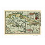 CubaPanoramic MapCuba Postcard