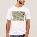 CubaPanoramic MapCuba T-Shirt