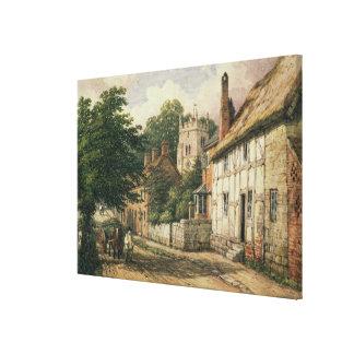 Cubbington, Warwickshire Canvas Print
