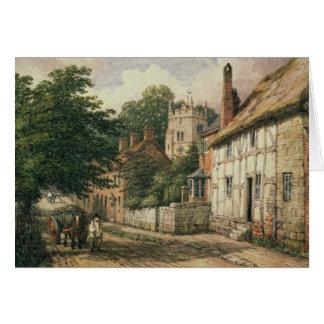 Cubbington, Warwickshire Greeting Card