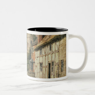 Cubbington, Warwickshire Two-Tone Coffee Mug