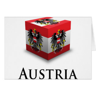 Cube Austria Greeting Card