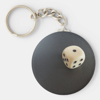 Cube Basic Round Button Key Ring