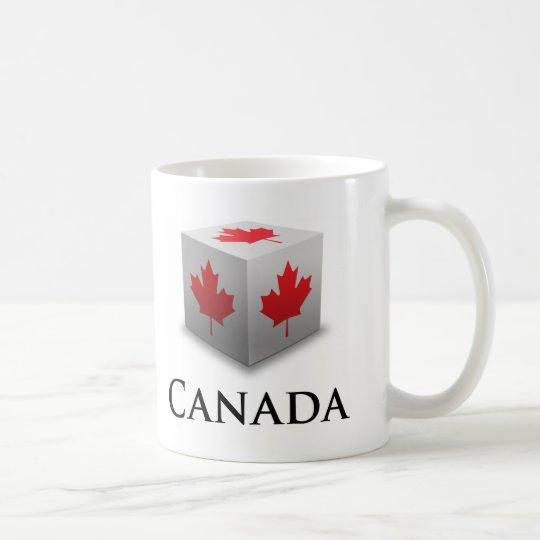 Cube Canada Coffee Mug