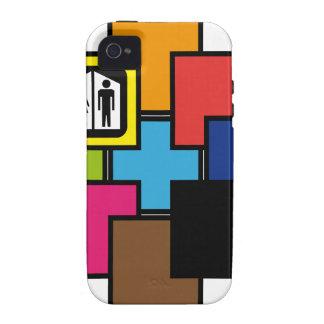 Cube Case-Mate iPhone 4 Cover