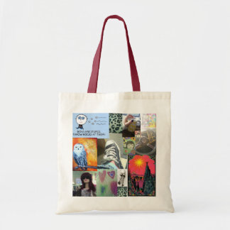Cube Collage Tote