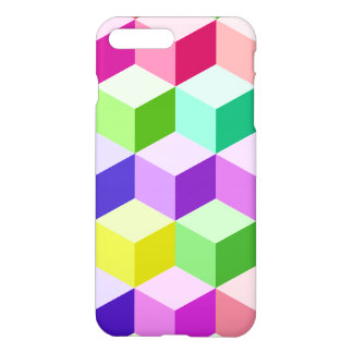 Cube Large Pattern Multicolored iPhone 7 Plus Case