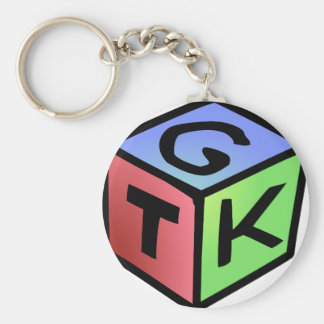 Cube Red Green Fash Keychains