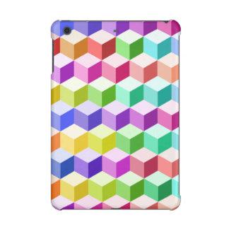 Cube Repeat Pattern Multicolored
