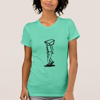 cube walker on green T-Shirt