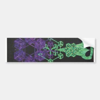 Cubeatronmeta Bumper Sticker