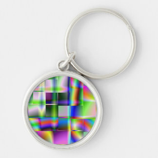 Cubed Colour Keychain