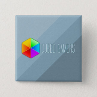 Cubed Gamers Square Pin Badge