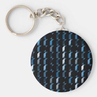 cubes-blue-05 key chain