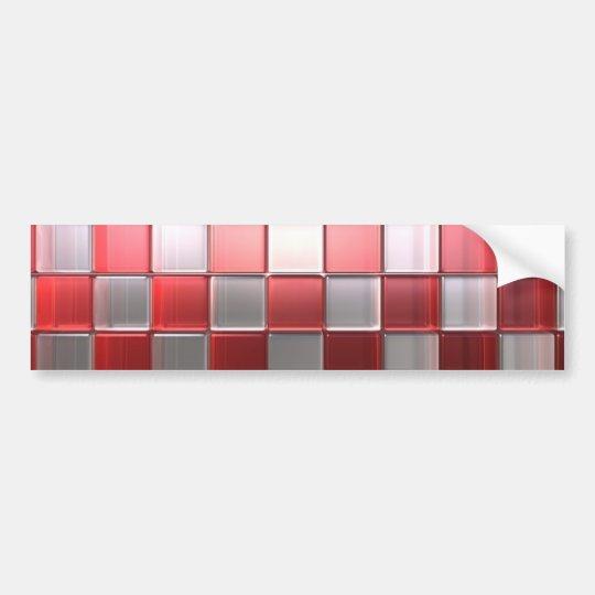 Cubes Bumper Sticker