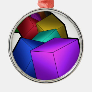 Cubes Christmas Ornament