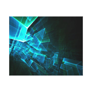 cubes in space canvas prints
