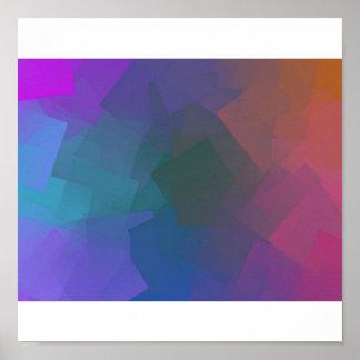 cubes-vert print