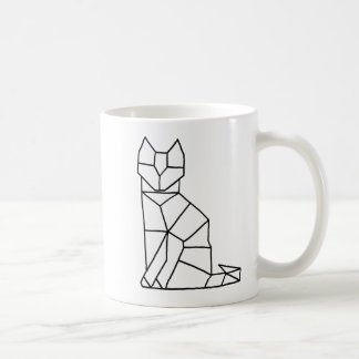 Cubic Cat Coffee Mug
