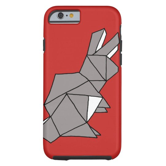 Cubic Rabbit Grey Phone Case Cover