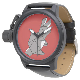 Cubic Rabbit Grey Watch