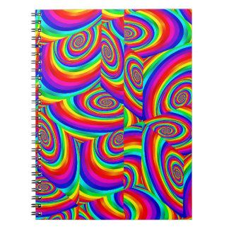 Cubic Rainbow Notebook