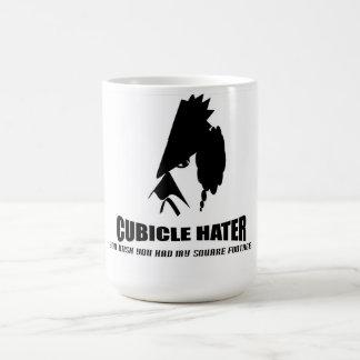 Cubicle Hater Basic White Mug