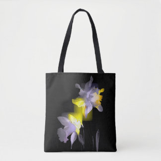 Cubist Daffodils Tote Bag