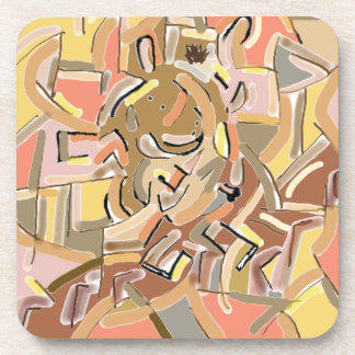 cubist donkey descending stairs coaster