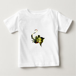 Cubist Elephant Baby T-Shirt