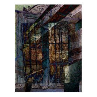 Cubist Shutters, Doors & Windows Postcard