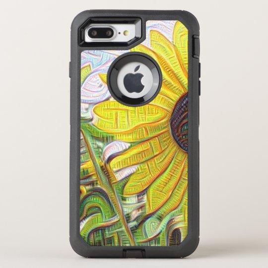 Cubist Sunflower OtterBox Defender iPhone 8 Plus/7 Plus Case