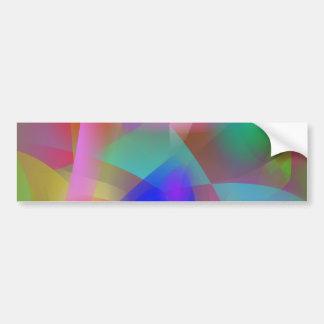Cubistic Approach Bumper Sticker