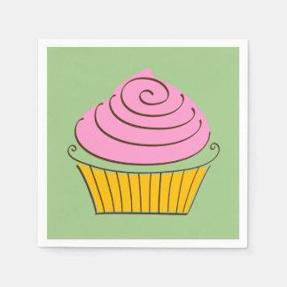 Cucake Illustration Disposable Napkin
